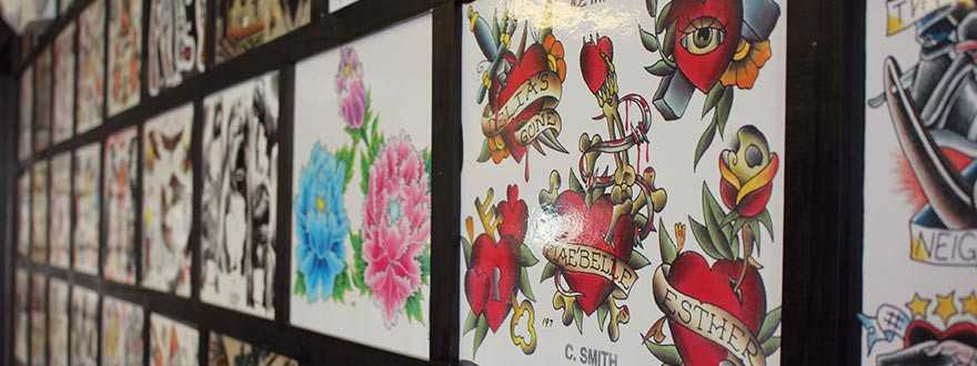 Shamrock Tattoo Company in West Hartford, CT